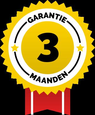 3 maanden garantie