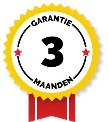 Drie maanden garantie