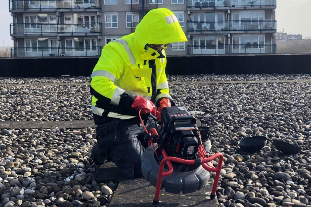 Camera inspectie voor leidingen en riool