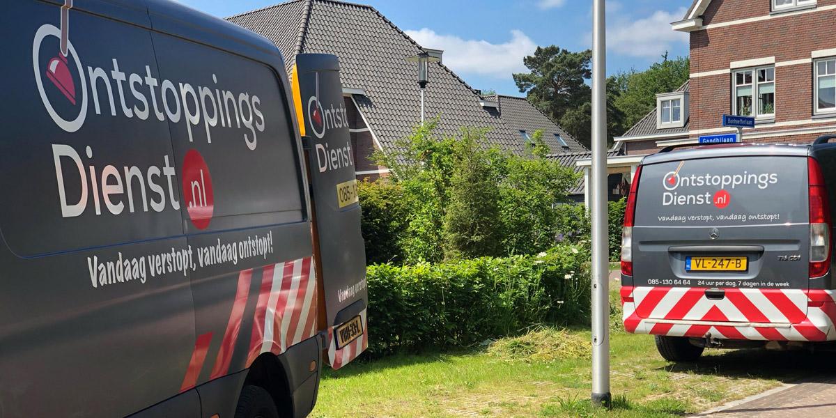 Ontstoppingsdienst.nl dienstauto's